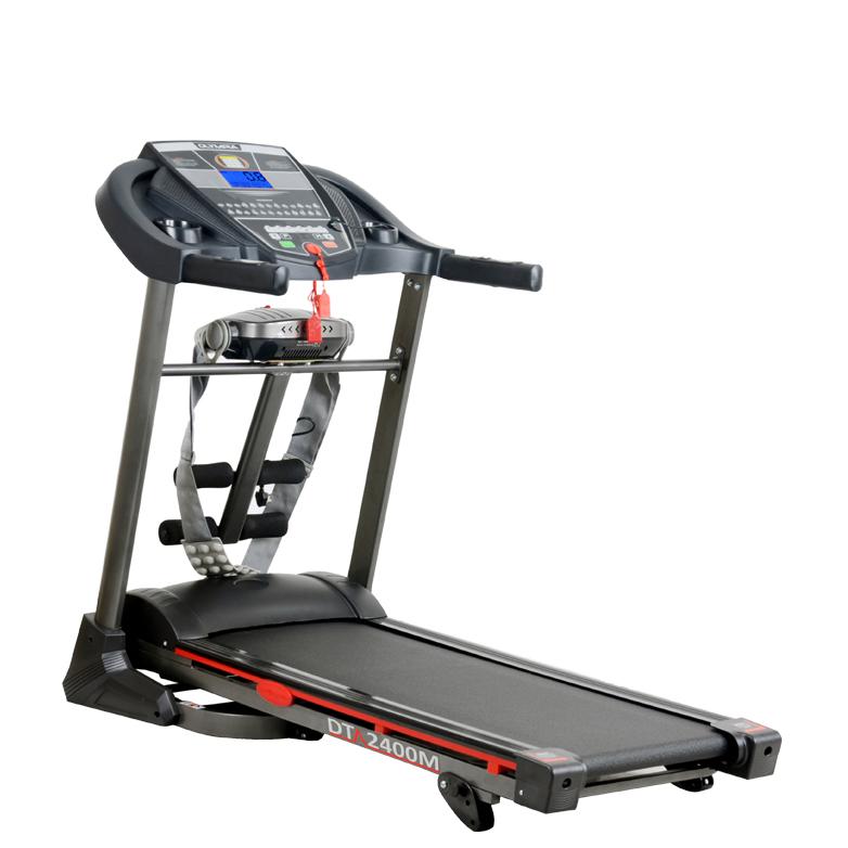 Motorised Treadmill T-2400M with massage